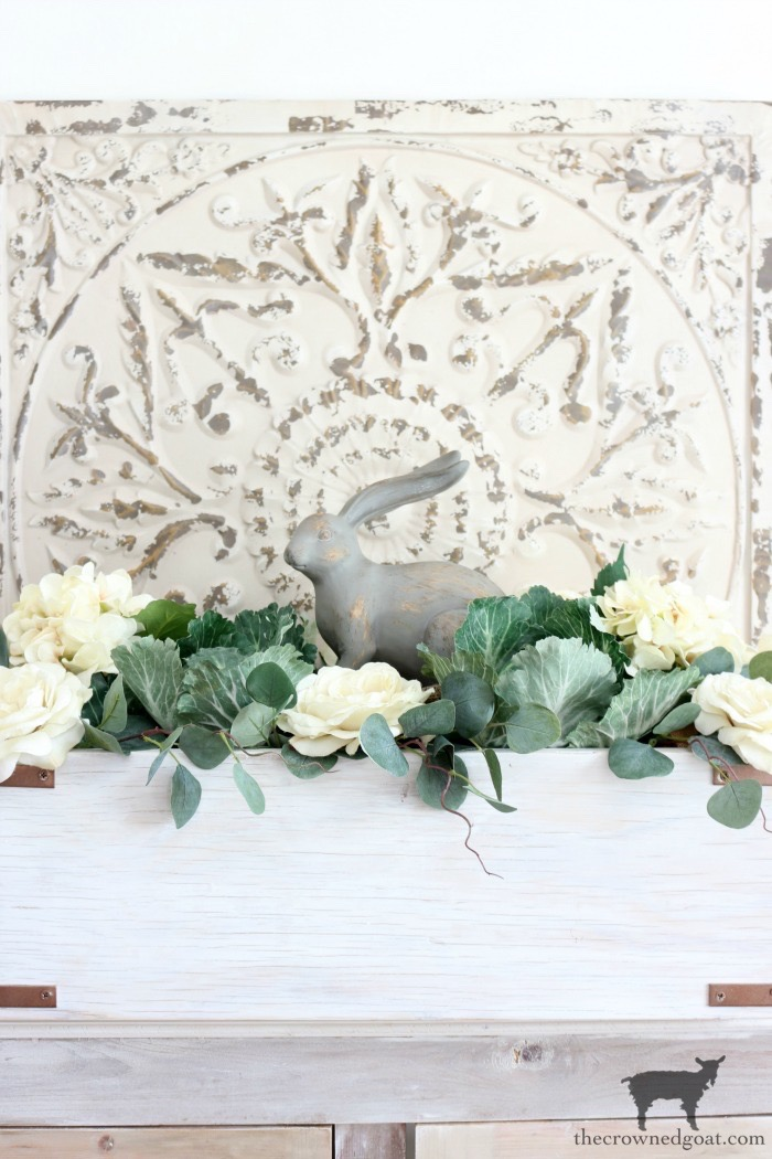 How-to-Make-a-Simple-Spring-Centerpiece-The-Crowned-Goat-16 How to Make a Simple Spring Centerpiece Decorating DIY Holidays Spring