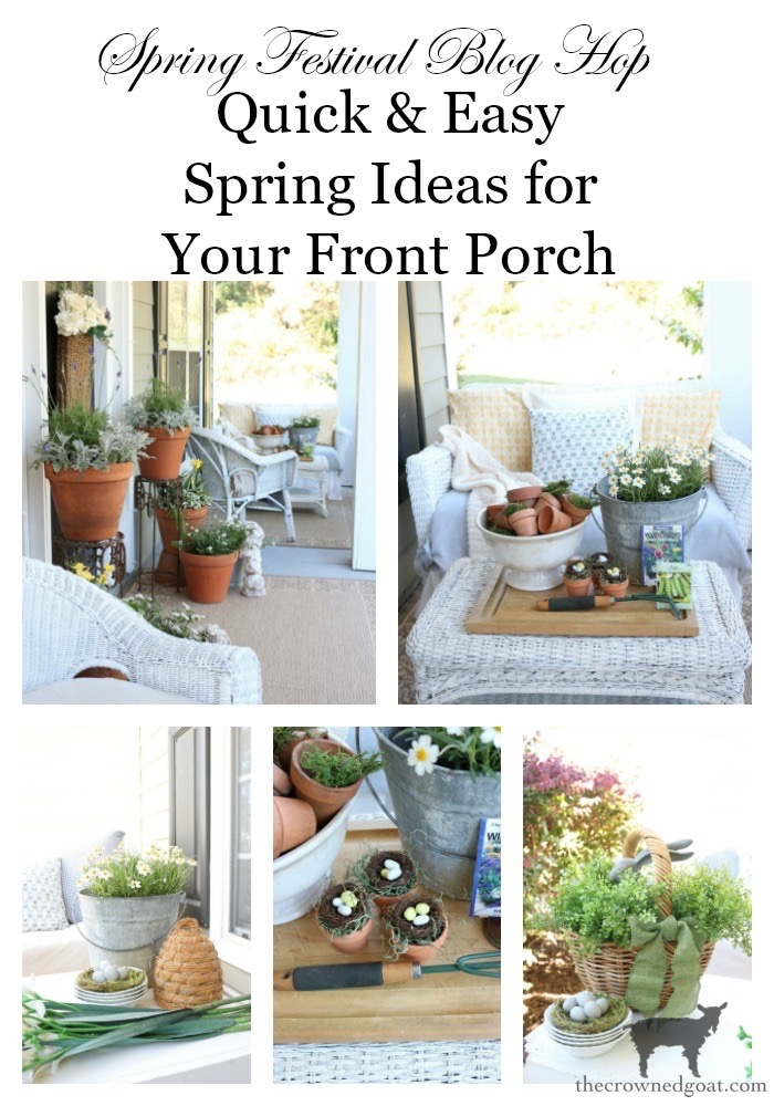 Spring-Front-Porch-Ideas-and-Blog-Hop-The-Crowned-Goat-22 Spring Front Porch Inspiration & Blog Hop Decorating DIY Holidays Spring