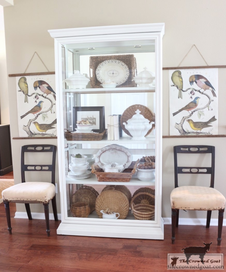 The-Easiest-Way-to-Update-a-Display-Cabinet-The-Crowned-Goat-1 The Easiest Way to Update a Display Cabinet DIY Painted Furniture