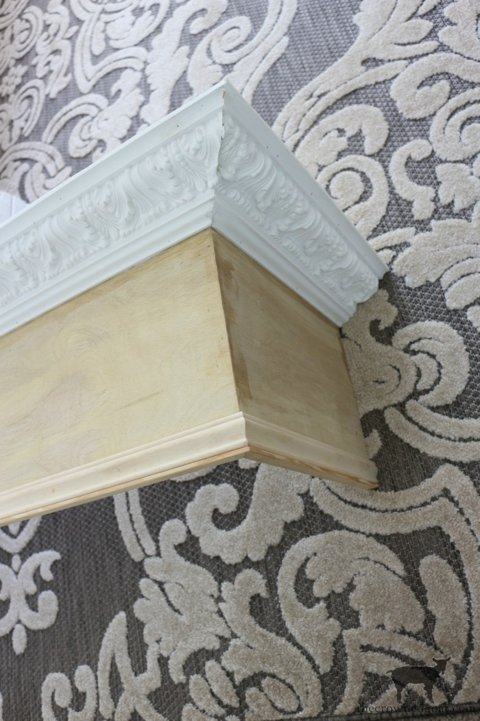 DIY-Bed-Crown-The-Crowned-Goat-3 DIY French Country Bed Crown Decorating DIY One_Room_Challenge Painted Furniture