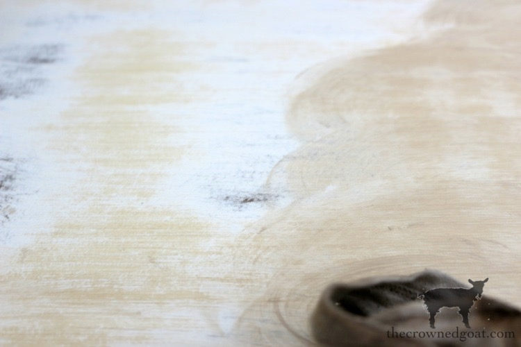 Gold-Accents-French-Country-Dresser-The-Crowned-Goat-3 Adding Gold Accents to a French Farmhouse Dresser Decorating One_Room_Challenge Painted Furniture