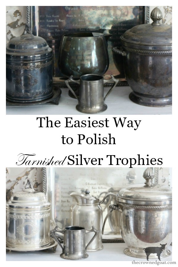 How-to-Polish-a-Silver-Trophy-The-Crowned-Goat-16 An Easy Way to Polish Tarnished Silver Trophies Decorating DIY