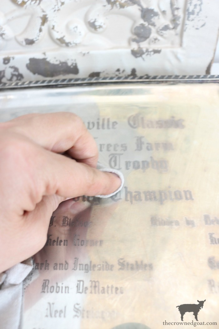 How-to-Polish-a-Silver-Trophy-The-Crowned-Goat-6 An Easy Way to Polish Tarnished Silver Trophies Decorating DIY