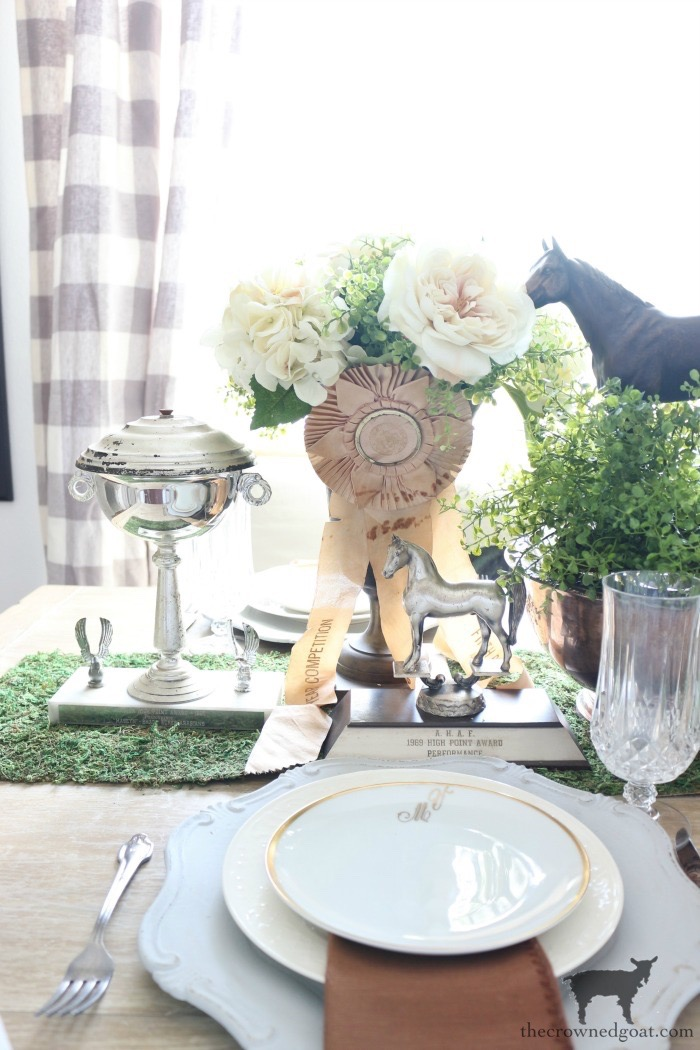 Kentucky-Derby-Tablescape-The-Crowned-Goat-14 Kentucky Derby Tablescape Decorating DIY