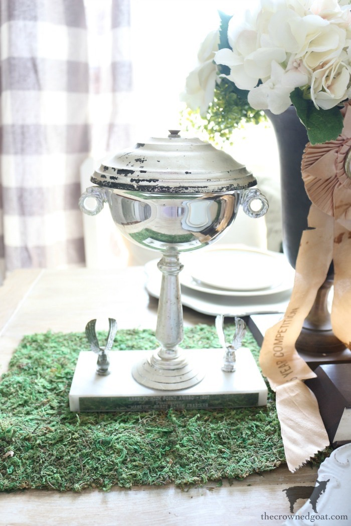 Kentucky-Derby-Tablescape-The-Crowned-Goat-5 Kentucky Derby Tablescape Decorating DIY