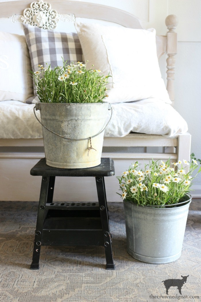 Spring-Home-Tour-and-Blog-Hop-The-Crowned-Goat-17 Spring Home Tour & Hop into Easter Blog Hop Decorating Holidays Spring
