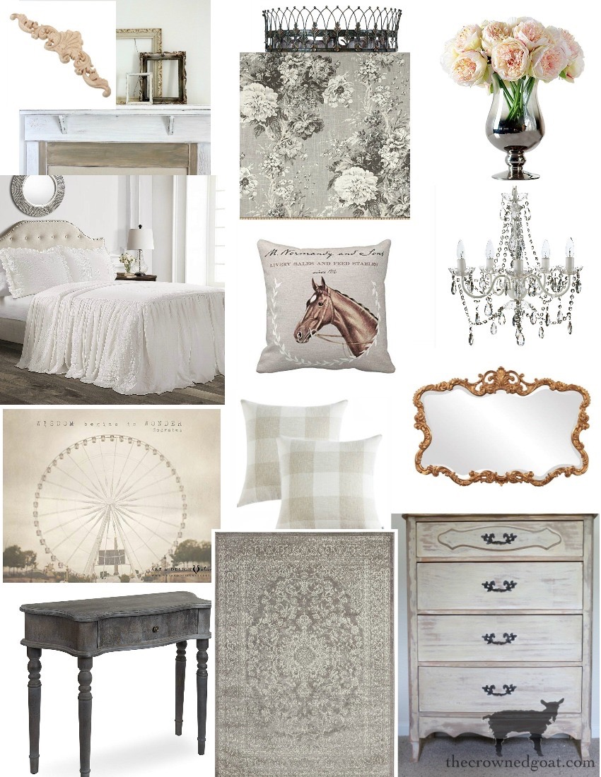 Spring-ORC-Bedroom-Makeover-Plans-The-Crowned-Goat-5 Spring ORC Bedroom Makeover Plans Decorating DIY One_Room_Challenge