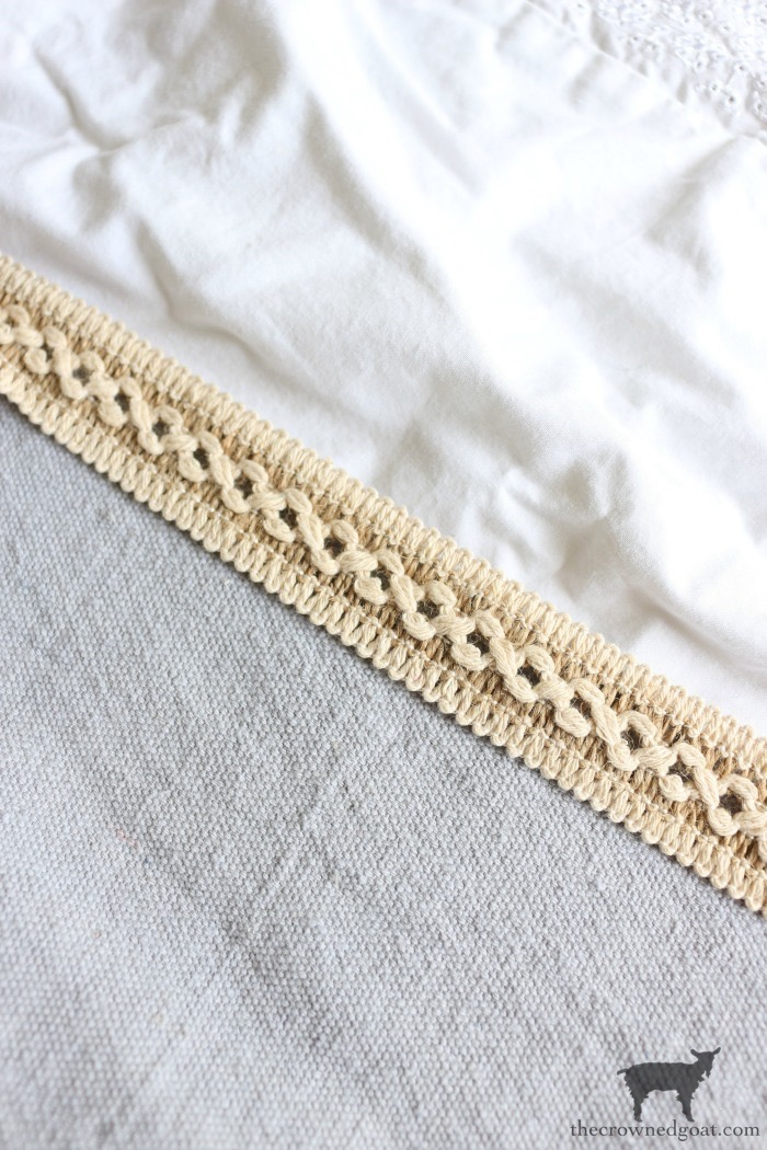 DIY-French-Linen-Bed-Scarf-The-Crowned-Goat-10 French Linen Inspired Bed Scarf Decorating DIY