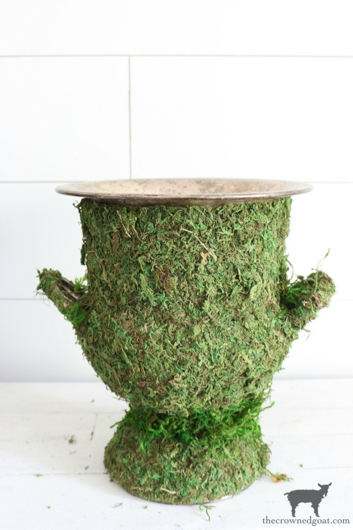 DIY-Moss-Covered-Urn-The-Crowned-Goat-11 DIY Moss Covered Urn & Spring Tea Party Hop Decorating DIY Spring