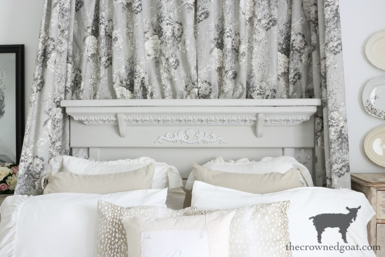 French-Country-Headboard-Makeover-The-Crowned-Goat-1 French Country Headboard Makeover Decorating DIY