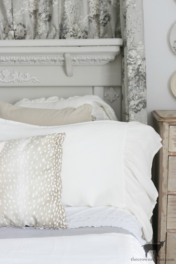 French-Country-Headboard-Makeover-The-Crowned-Goat-10 French Country Headboard Makeover Decorating DIY