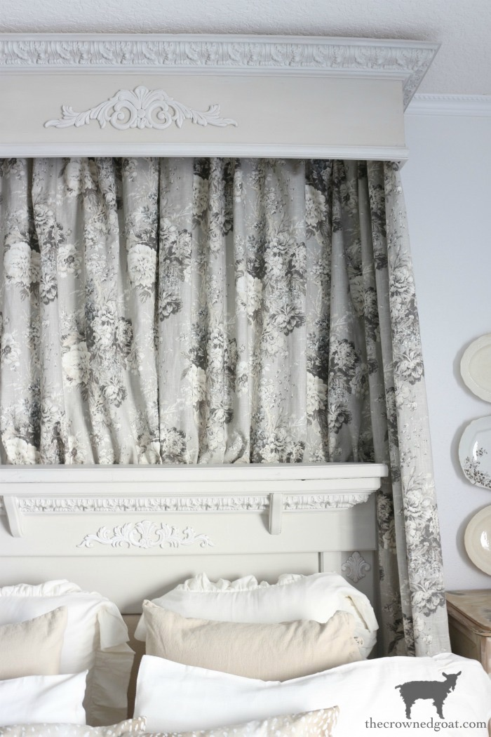 French-Country-Headboard-Makeover-The-Crowned-Goat-11 French Country Headboard Makeover Decorating DIY