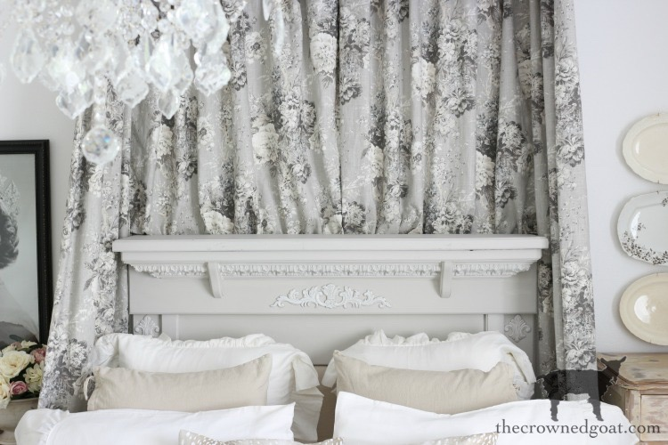 French-Country-Headboard-Makeover-The-Crowned-Goat-12 French Country Headboard Makeover Decorating DIY