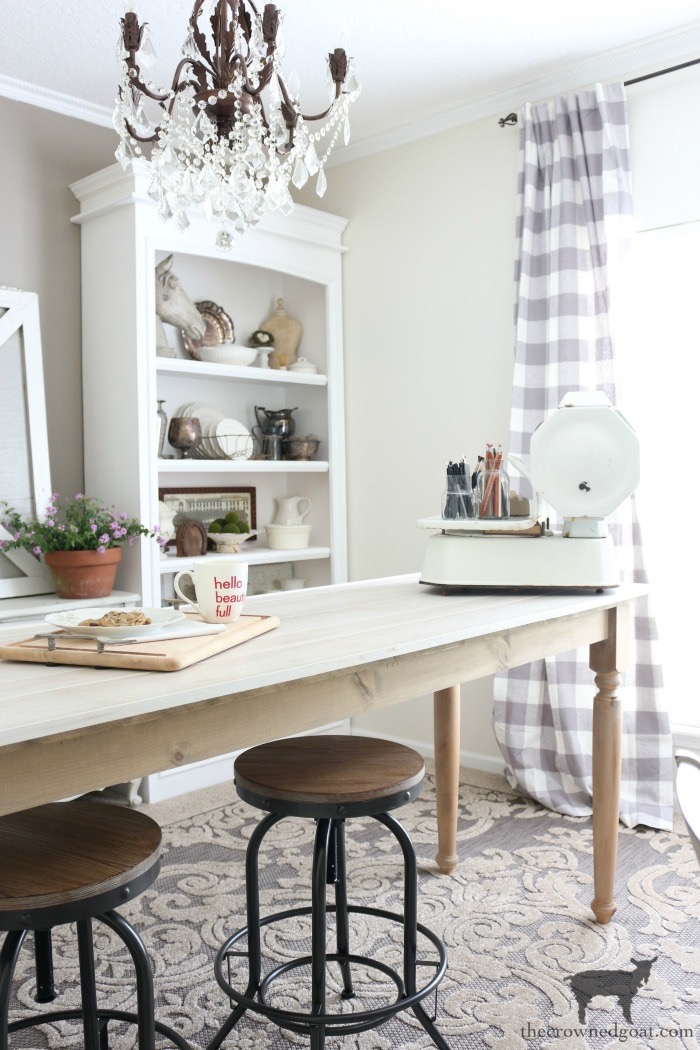 Home-Office-Makeover-Plans-The-Crowned-Goat-1 Home Office Makeover Plans Decorating DIY