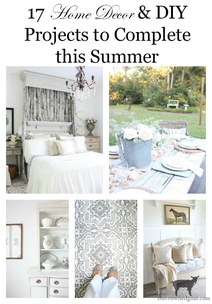 Summer-Home-Decor-and-DIY-Projects-The-Crowned-Goat-20 17 Home Décor & DIY Projects to Complete This Summer Decorating DIY