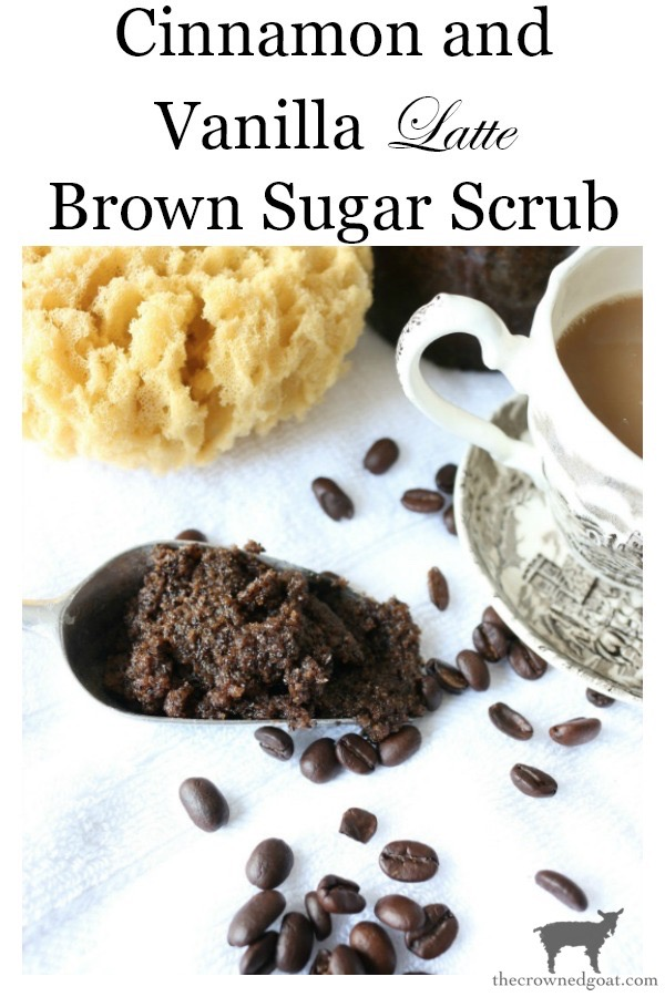 Cinnamon-Vanilla-Latte-Brown-Sugar-Scrub-The-Crowned-Goat-15 Cinnamon and Vanilla Latte Brown Sugar Scrub Crafts DIY Holidays