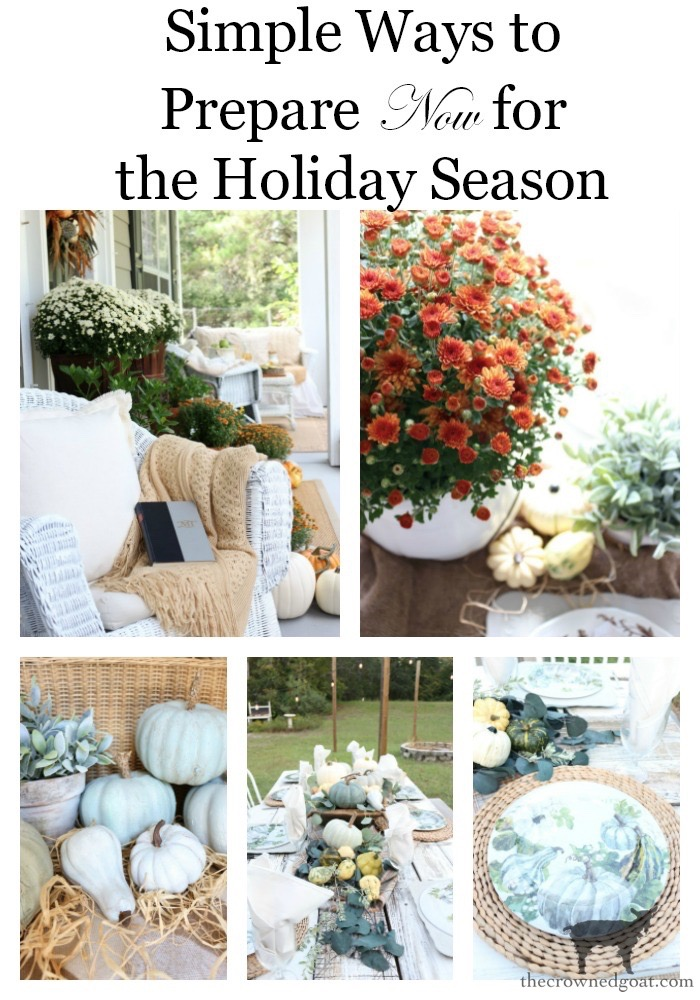 Simple-Ways-to-Prep-for-the-Holidays-The-Crowned-Goat-28 Simple Ways to Prepare Now for the Holidays Decorating DIY Holidays