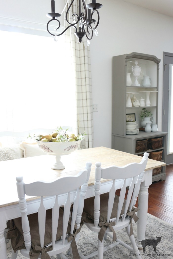Breakfast-Nook-Refresh-Reveal-The-Crowned-Goat-16 Breakfast Nook Refresh Reveal Decorating DIY