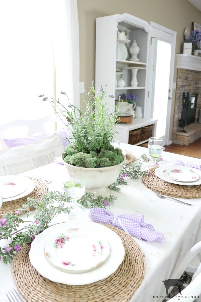 How-to-Make-a-Simple-Lavender-Topiary-The-Crowned-Goat-6 Simple Lavender Topiary and Summer Celebration Blog Hop Crafts Decorating DIY