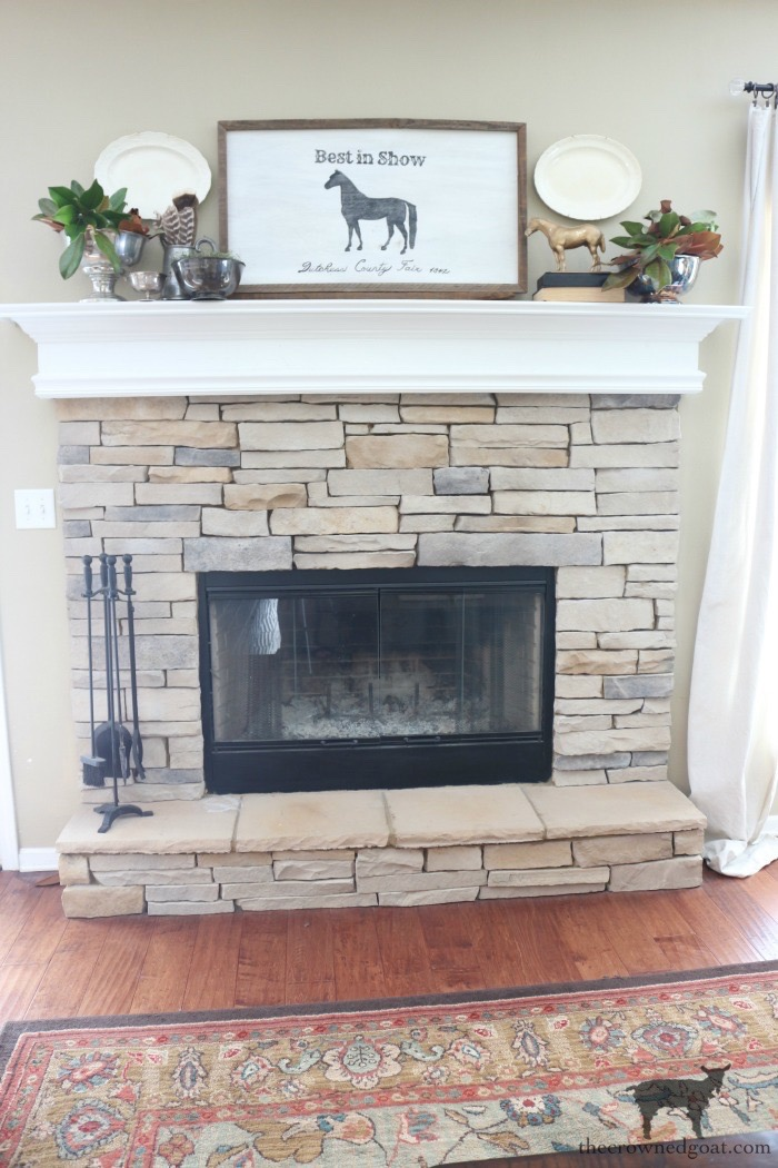 Creating-an-Easy-Fall-Mantel-The-Crowned-Goat-10 5 Steps to Creating an Easy Fall Mantel Fall
