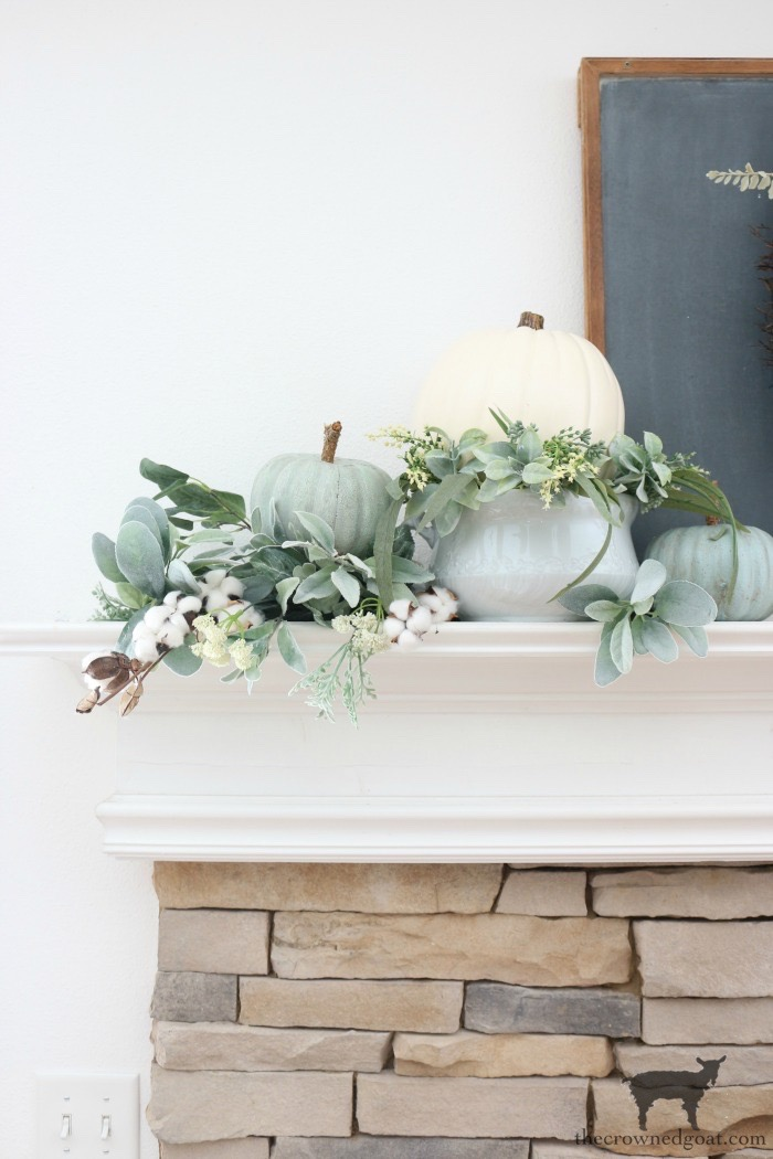 Creating-an-Easy-Fall-Mantel-The-Crowned-Goat-5 5 Steps to Creating an Easy Fall Mantel Fall