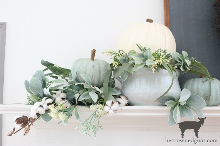 Creating-an-Easy-Fall-Mantel-The-Crowned-Goat-5A 5 Steps to Creating an Easy Fall Mantel Fall