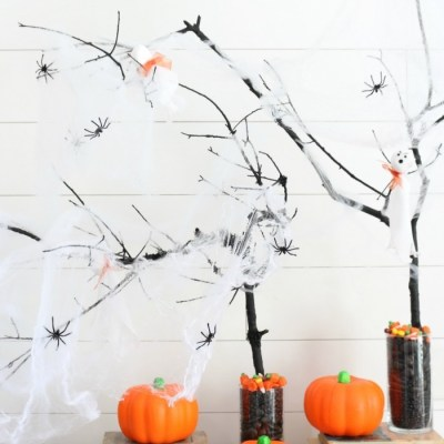 DIY Halloween Trees