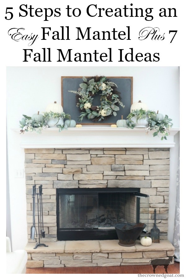Easy-Fall-Mantel-Decorating-Ideas-The-Crowned-Goat-12 5 Steps to Creating an Easy Fall Mantel Fall