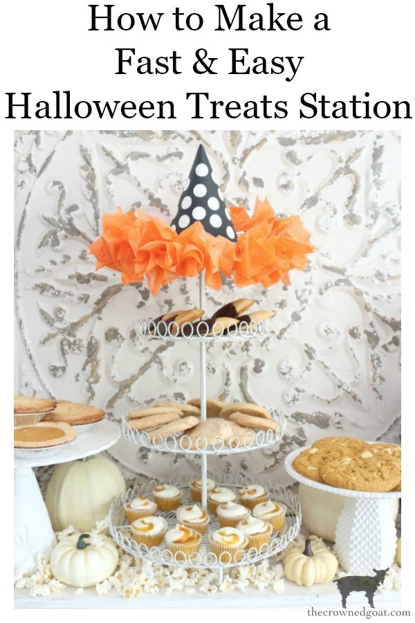 Fast-and-Easy-Halloween-Treats-The-Crowned-Goat-23 Fast and Easy Halloween Treat Station Crafts Fall Holidays
