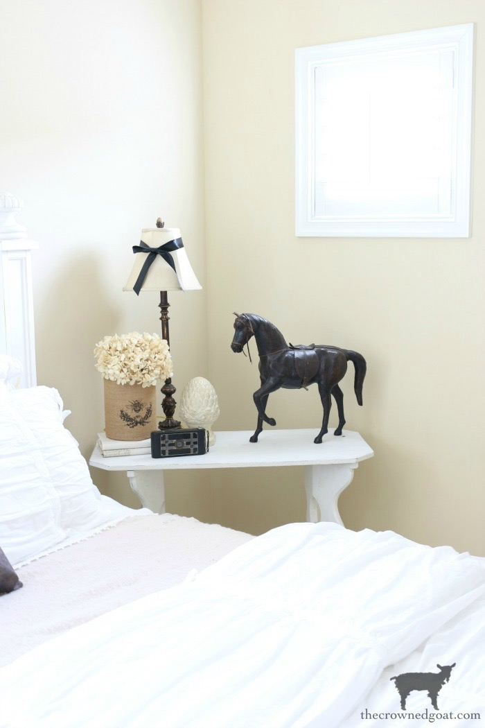 Blue-and-White-Guest-Bedroom-Refresh-The-Crowned-Goat-4 Blue and White Guest Bedroom Refresh Bliss Barracks Decorating DIY