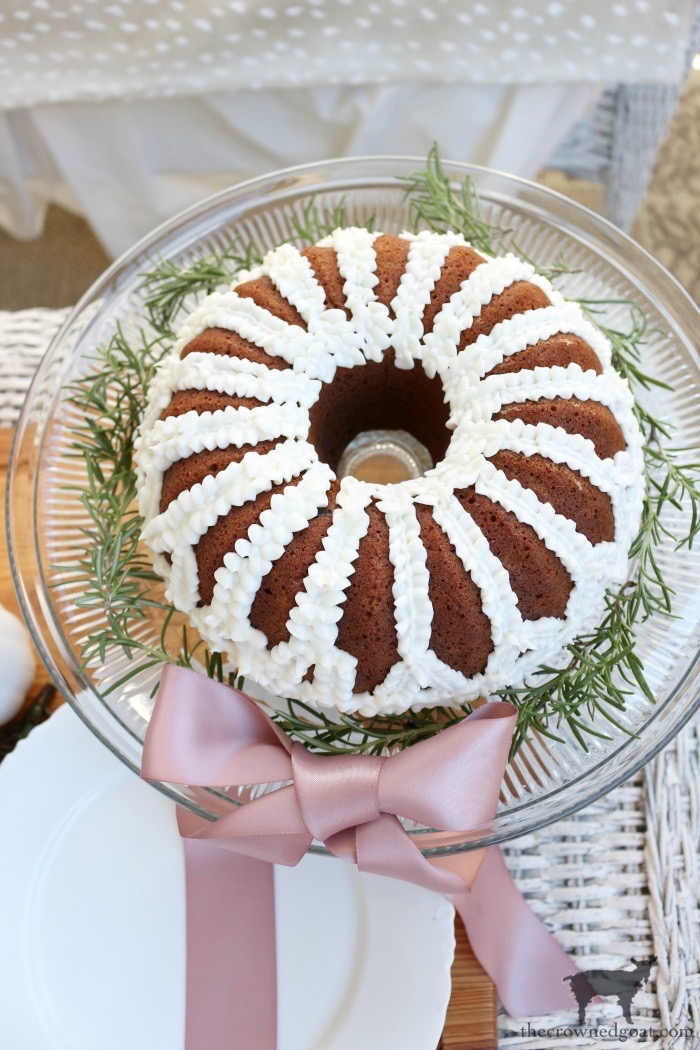 Carrot-Bundt-Cake-Christmas-Wreath-The-Crowned-Goat-5 From the Front Porch From the Front Porch
