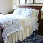 Blue-and-White-Bedroom-Refresh-The-Crowned-Goat-3 Decorating