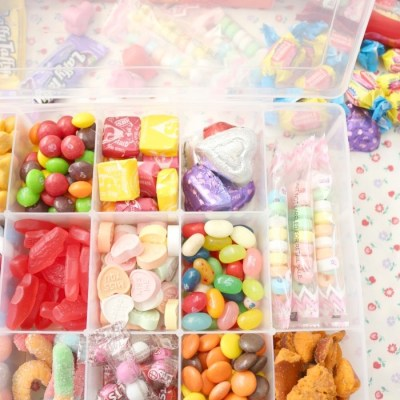 DIY Candy Tackle Box