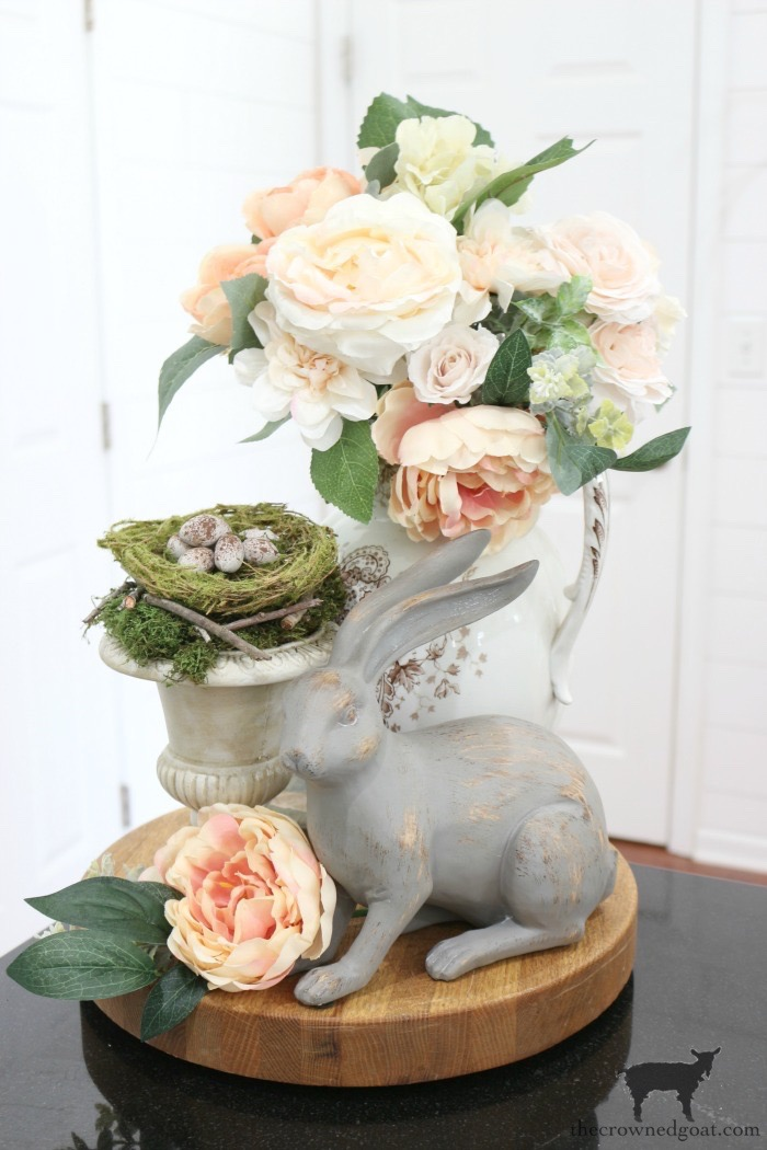 DIY-Speckled-Eggs-Spring-Vignette-Ideas-The-Crowned-Goat-18 Simple Spring Home Tour Decorating Holidays Spring