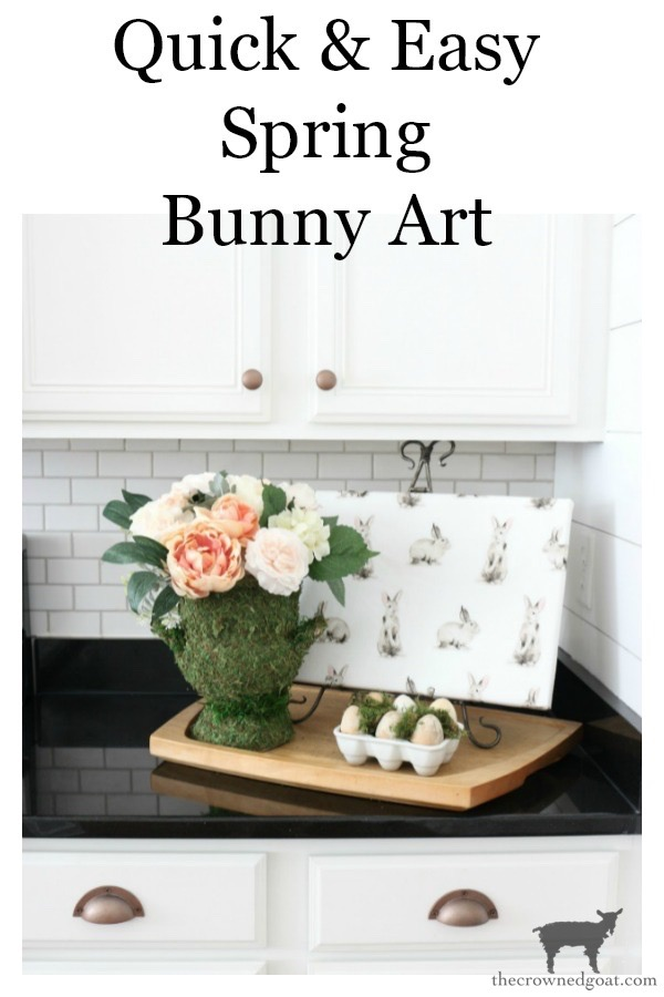 Quick-Easy-Spring-Bunny-Art-The-Crowned-Goat-17 Quick & Easy Spring Bunny Art Crafts Decorating Holidays Spring