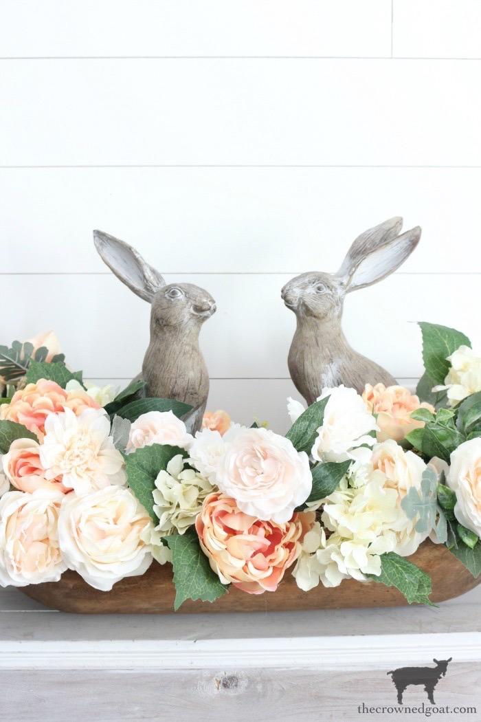 Simple-Spring-Dough-Bowl-Centerpiece-The-Crowned-Goat-15 Simple Spring Dough Bowl Centerpiece Holidays Spring