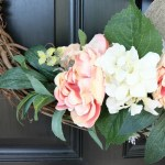 Simple-Spring-Grapevine-Wreath-The-Crowned-Goat-3 Decorating