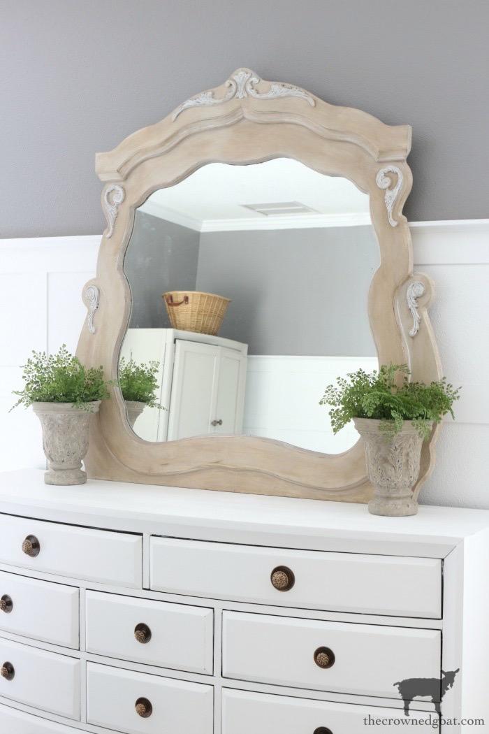 DIY-European-Farmhouse-Mirror-Makeover-The-Crowned-Goat-24 DIY European Farmhouse Mirror Makeover Decorating DIY Painted Furniture