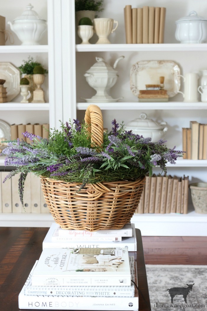 Quick-Easy-Summer-Lavender-Basket-The-Crowned-Goat-14 Quick & Easy Summer Lavender Basket Decorating DIY Summer