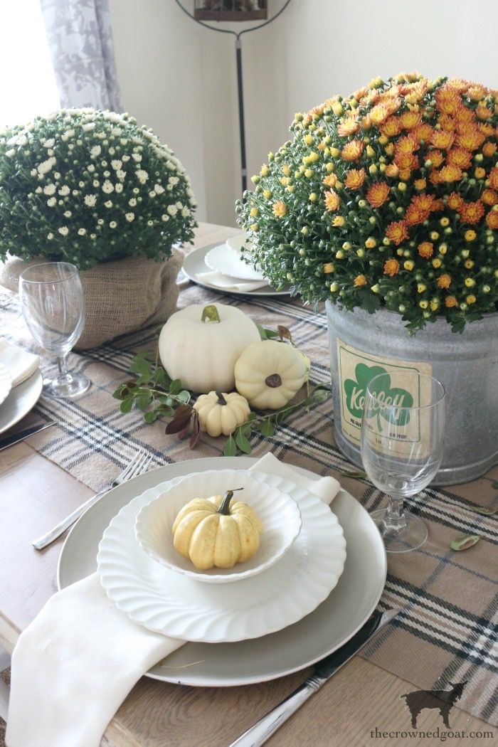 Fall-Decorating-in-the-Dining-Room-9 Fall Monthly Bucket List Ideas Celebrating Life Fall Holidays