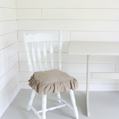 Painted Table, Chairs, and a Shed Update