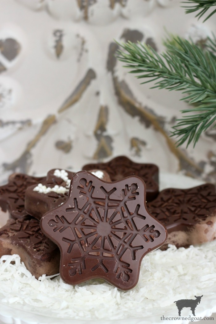 Chocolate-Covered-Oreo-Snowflake-Cookies-The-Crowned-Goat-18 Chocolate Covered Oreo Snowflake Cookies Baking Christmas Holidays