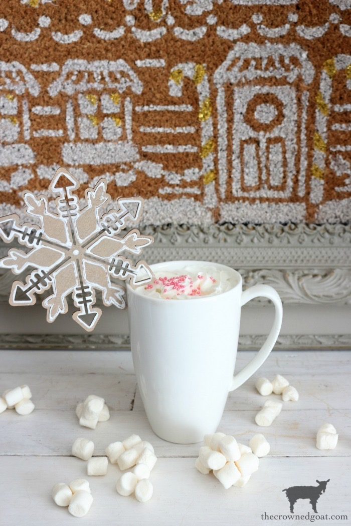 DIY-Gingerbread-Snowflake-Ornaments-The-Crowned-Goat-1 DIY Gingerbread Snowflake Ornaments Christmas Crafts Holidays