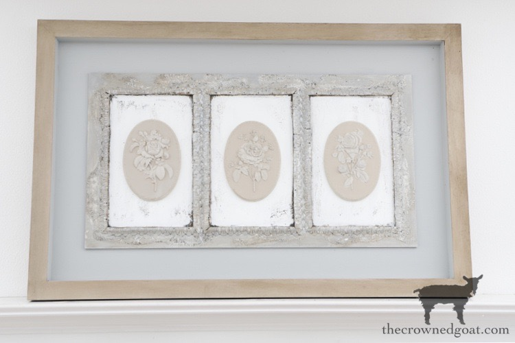 DIY-French-Country-Mantel-Art-The-Crowned-Goat-18 DIY French Country Mantel Art Decorating DIY Painted Furniture