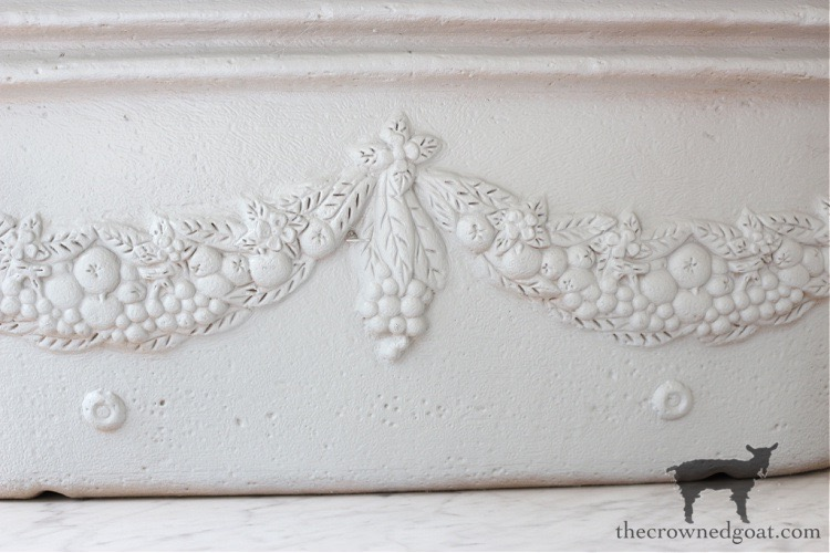French-Country-Painted-Planter-The-Crowned-Goat-6 French Country Painted Planter Crafts Decorating DIY Painted Furniture