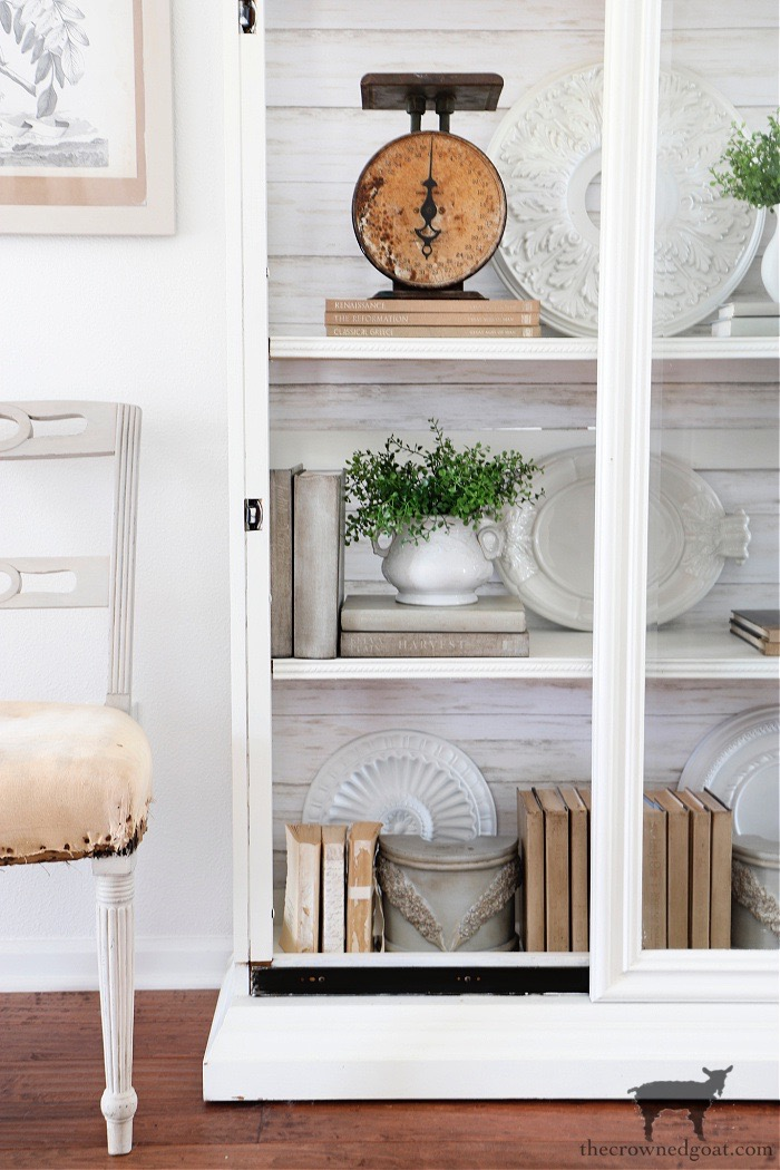 How-to-Style-a-Glass-Display-Cabinet-The-Crowned-Goat-1 How to Style a Glass Display Cabinet Decorating DIY