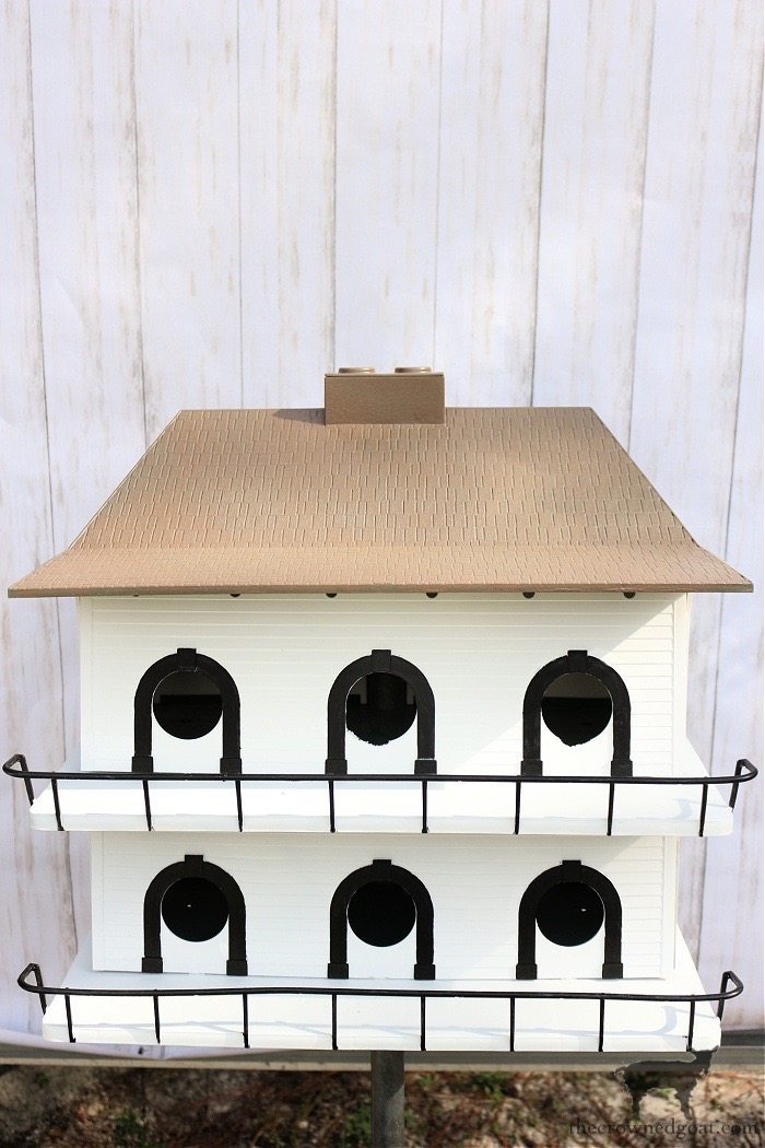 Upcycled-Country-House-Birdhouse-The-Crowned-Goat-8 Upcycled Country House Birdhouse Holidays Spring