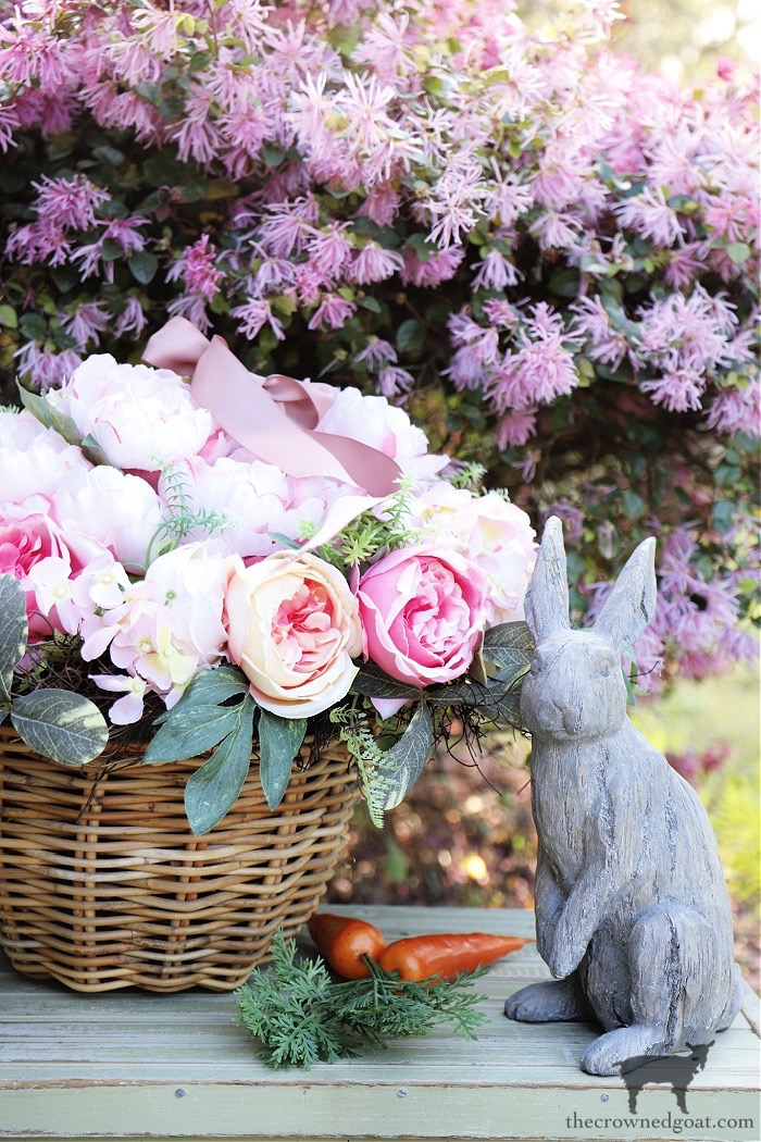 Five-Easy-Ways-to-Style-a-Spring-Basket-The-Crowned-Goat-12 5 Ways to Style a Spring Basket Holidays Spring