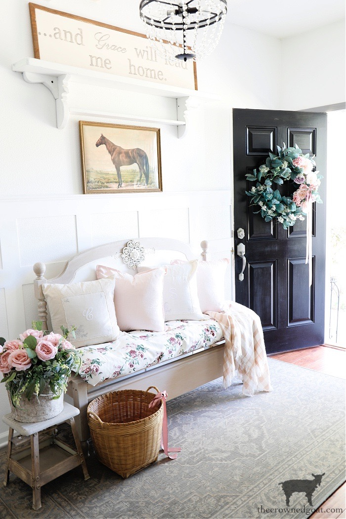 Spring-to-Summer-Entry-Ideas-The-Crowned-Goat Spring Into Summer Entry Ideas Decorating Holidays Summer