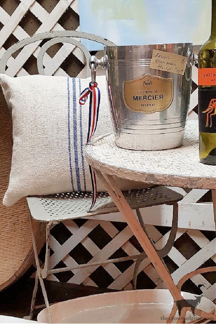 Champagne-Bucket From the Front Porch From the Front Porch